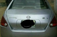Nigerian Used Nissan Maxima 2005 Silver For Sale
