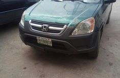 Clean Used Honda CR-V 2003 Green for sale