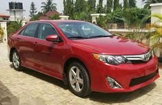 Toyota Camry 2014 Red for sale