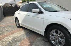 Clean Honda Accord 2011 White for sale