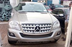 Clean Tokunbo Mercedes-Benz ML 300 2010 Gold for sale
