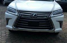 Lexus LX570 2017 White for sale