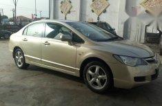 Honda Civic 2008 Gold for sale