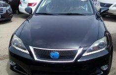 Very Clean Tokunbo Lexus IS250 2011 Black for sale