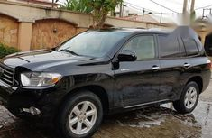 Toyota Highlander 2008 Black for sale