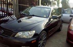 Tokunbo Lexus Is 300 2002 Black for sale