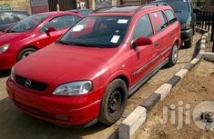 Tokunbo Opel Astra Wagon 2000 Red for sale