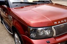 Clean LAnd Rover Range Rover Sport 2007 Red for sale