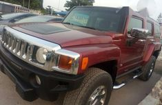 Hummer H3 2010 Red For Sale