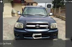 Toyota Sequoia 2005 Blue for sale