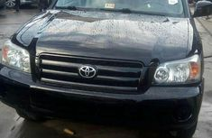 Toyota Highlander 2005 Black for sale
