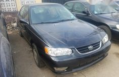 Toyota Corolla 2001 Black for sale
