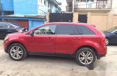 Neatly Used Ford Edge 2012 Red for sale