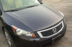 Tokunbo 2008 Honda Accord for sale with (Navi, Thumbstart, V6, Backup Cam) for sale with full option