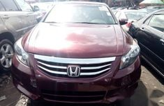 Red 2010 Honda Accord FOR SALE