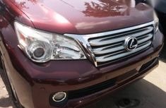 Lexus Gx460 2013 Red for sale