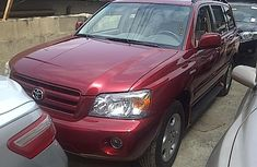Toyota Highlander limited 2005 for sale