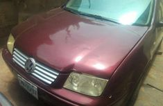 Volkswagen Bora 2001 Red for sale