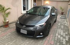 Toyota Corolla Sport 2015 Gray for sale