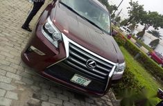 Lexus Gx460 2014 Red for sale