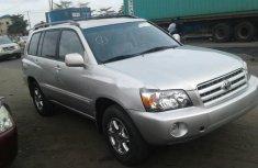 2005 Toyota Highlander Petrol Automatic for sale