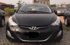 Hyundai Elantra 2012 Petrol Automatic Black for sale