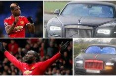 Lukaku and Pogba drive matching N140m Rolls-Royce to Manchester United training