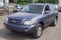 2007 Toyota Highlander blue for sale