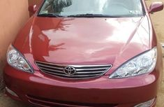 Toks Toyota Camry 2005 red for sale with the fullest options