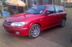 Tokunbo Nissan Almera 2004 Model red for sale