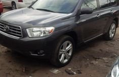 2010 Toyota Highlander Limited Grey for sale