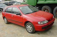 Tokunbo Nissan Almera 2003 Red for sale