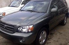 Toks 2007 Toyota Highlander Green for sale