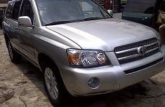 2007 Toyota Highlander silver for sale