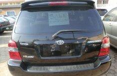 Toyota Highlander 2007 Black for sale