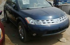 Nissan Murano 2005 blue for sale