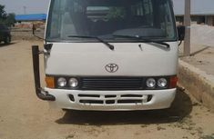 Toyota Coaster bus 200 white for sale