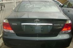 Toyota Camry 2006 grey model for sale with the fullest options buy and drive