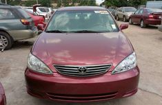 Toks Toyota Camry big daddy 2006 red for sale with the fullest options