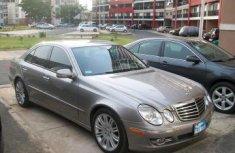 Toks MERCERDES-BENZ Benz E 350 2008 gold for sale