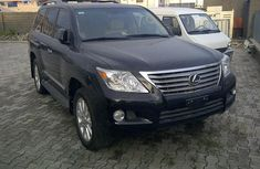 2011 SUPER LEXUS LX570 BLACK FOR SALE