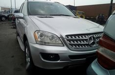Mercedes Benz ML 2006 Silver for sale