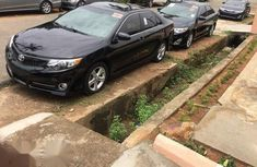 Clean Toyota Camry 2012 Black for sale