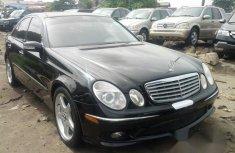 Mercedes-Benz E350 2006 Black for sale