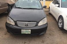 Clean Used Toyota Corolla 2004 Black FOR SALE
