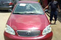 Tokunbo Toyota Corolla 2004 Red for sale