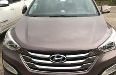 Hyundai Santa Fe 2014 Brown for sale