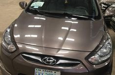 Hyundai Accent 2012 Brown for sale