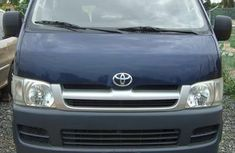 2010 Toyota Bus blue for sale