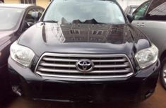 2009 Toyota Highlander black for sale
